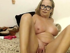 Blonde Mature Teacher Loves Toying All Holes