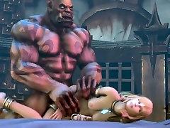 3D Huge Hulk Fucks Tiny Little Blonde Loli - FreeFetishTVcom