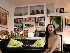 Stockings slut facial