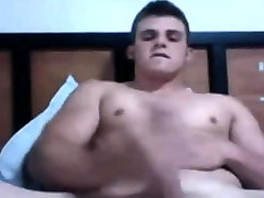 Hot man is currently jerking on camera