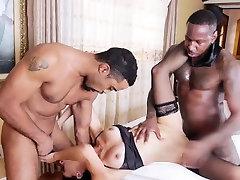 White house wife Eva Long double banged by 12 sense sex cocks