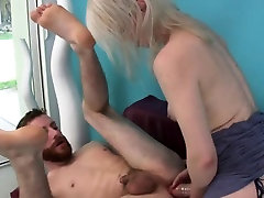 Nymphos screw fellas anal with huge strap-on dildos and spla