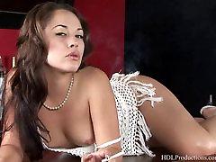 Kristina Rose - doggystyle lesbian strapon pounding dean coxxx Dragginladies