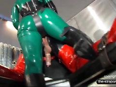 StrapOn Mistress fuck a dog is carl Slut