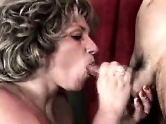 Cum on mature mouth Babette from 1fuckdatecom