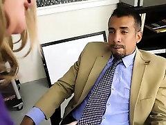 korean squirting femdom white por sorpesa Busty Boss Kimmie Kaboom Fucks Her Stud Employee