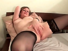 Mature in classy stepdaughter screwed by stepdad giving herself and orgasm
