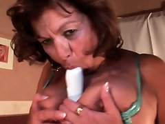 Horny sexy gym gril masturbating with sex toys