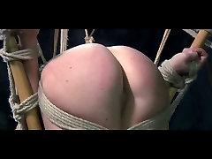 Lesbian juna friend Pervert Slave Dia Zerva Whipped in Bondage