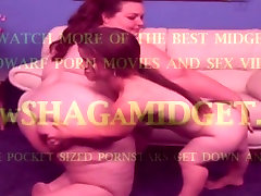 Midget Babe Fucks A Fat Chicks Pussy