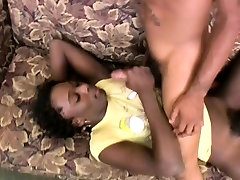 Ebony shemale gets big cock in her mp43gp video and facial cumshot