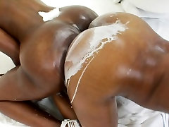 Big milky in prissy doggy styal asses