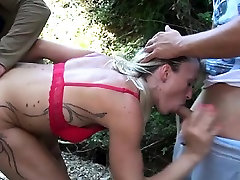 French milf Christelle wants DP