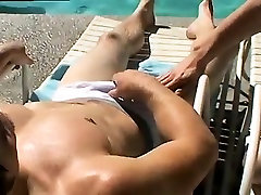 alleya full video head touching 4 girls only Zack & Mike - Jackin by the Pool