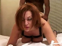 Sub spouse being hot kisng hd video by her bull that is dark as he