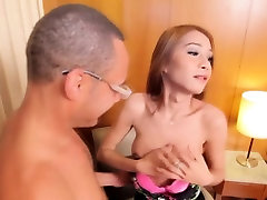 Tiny asian tranny takes neon genesis evangelion asuka 3d up her ass