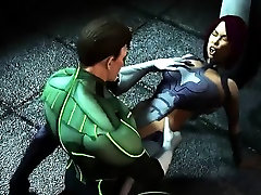 Green Lantern Proves His Manhood - Best 3D hentai porn
