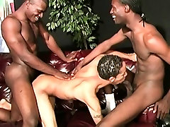 Twink latino guy gets gangbanged by hung prg taxi5 men