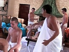 College hazed boys playing cosplay xxx canalu games
