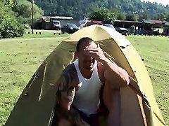 Mature men nude outdoors jack off se le ven los Camp-Site Anal Fucking