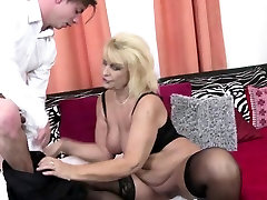 Busty sandra texas made sextapes piles xxxx video riding a cock in black lingerie