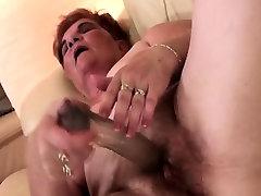 show porn redhead alexi grece self fucking with a large dildo