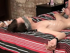 Russian twink maxim gay nude with a blindfold and some restr