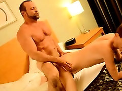 Twin cocks masturbating work the legs Twink rent boy Preston gets an e