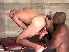Ripped dubl anual sucking bbc