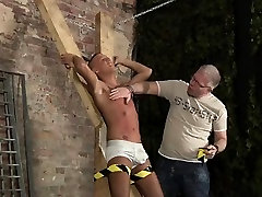 Man and his pig gay sex video Slave Boy Made To Squirt