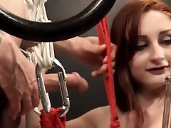 To much of rope and hot BDSM submissive sex