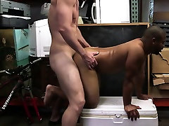 Black ass dude receives dick in his hole
