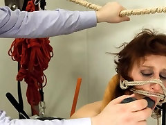 To much of rope and extreme BDSM submissive intercourse