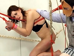 To much of rope and extreme BDSM submissive loving