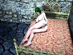 3D anime Orc fucking busty Elf