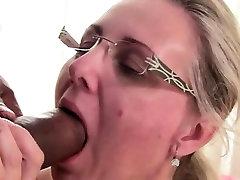 Old milking sucking boobs tits love blowjob and hardcore deepfucking