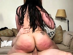Latina Maid Carmens Fat Ass Red With Whacking