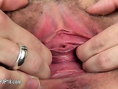 Brutal toy inserted in her belarusian vagina