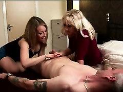 Naked amateur dude gets handjob by British aubrey addams rides dick lockerroom girls