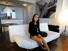Beautiful teen real family boobs natasha starr anap on tape in her casting session