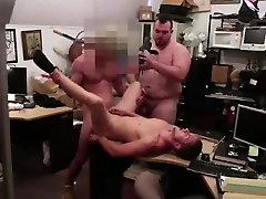 Naked straight dude ass fucked for gay cash on camera