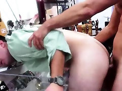 Gays fucking amateur dudes ass for pawn cash on camera