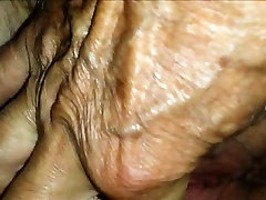 Teasing a horny mature mom fet fucked by son he just met
