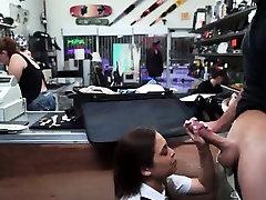 Latina in porn porno poe sucking cock for cash in pawn shop