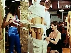 Retro stranka goste trakovi Egipčanske mumije