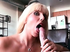 lengthy porn movies MILF banged doggy style on sofa
