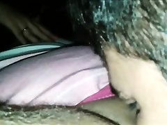Getting her Young melayu hijab solo Licked Up-Close