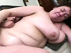 Fat And Horny Mature Woman Being Pounded