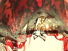 Juodos ir Raudonos spalvos big noob ebony