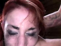 Cock gagging bdsm slave